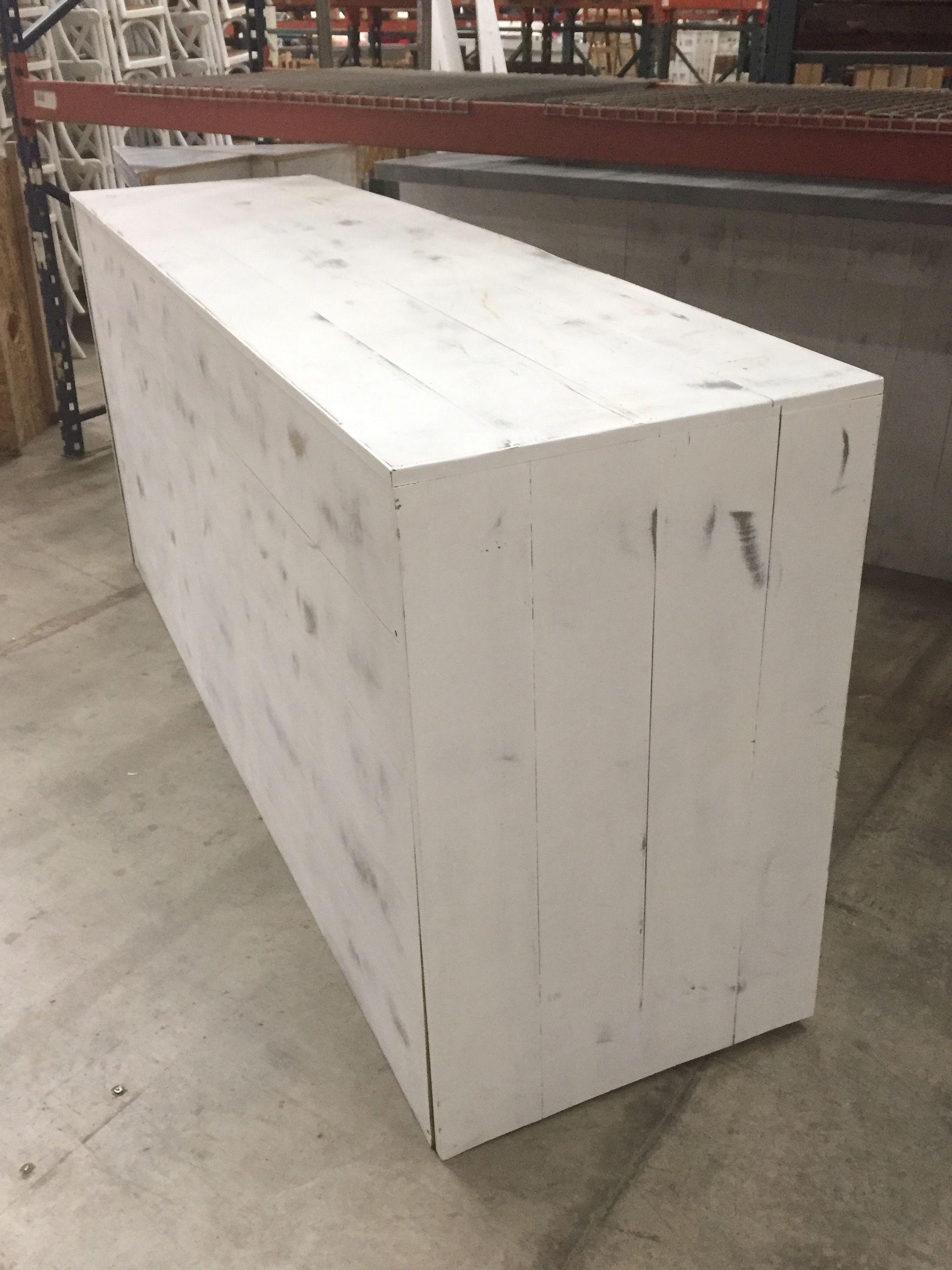 whitewash wood furniture. Custom Made Whitewash Wood Bar Furniture