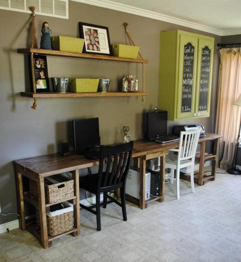 Custom Home Office Desk By Sb Designs