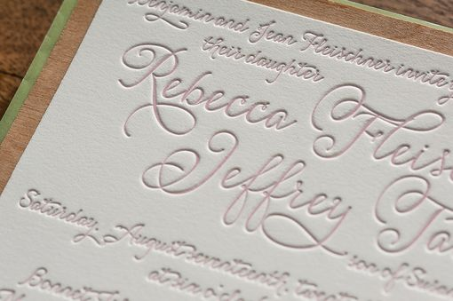 Custom Made Wedding Invitations - Destination Beach