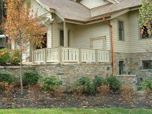 Custom Made Craftsman Style Railing System