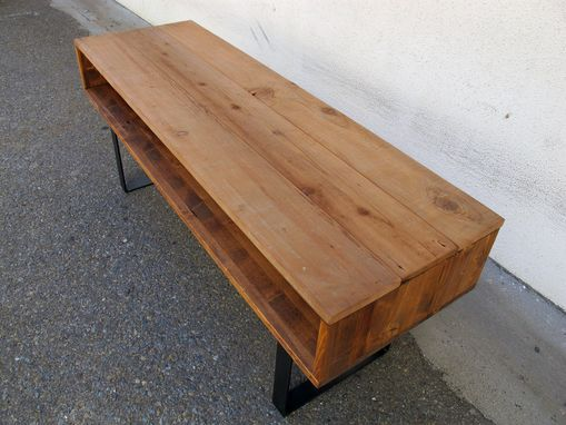 Custom Made Barnwood Media Stand/Coffee Table
