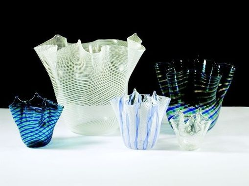 Custom Made Handblown Glass Vases