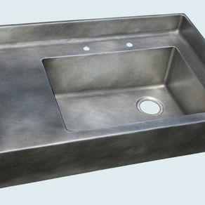 Kitchen Sinks With Backsplash custom sinks   custommade