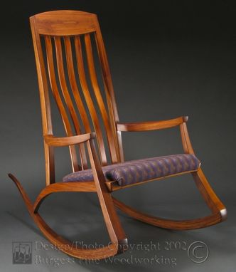 Custom Made Nursing Rocking Chair