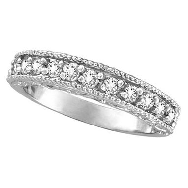 Custom Made Stackable Diamond Ring Anniversary Band