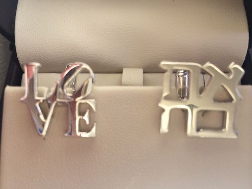 Custom Made Ahava Love Cufflinks