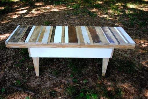 Custom Made Reclaimed Side Table- The Calico Table
