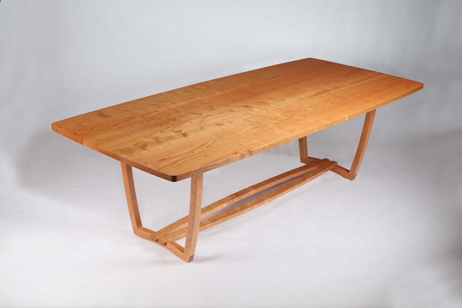 100 Dining Table Cabriole Legs Quartersawn Oak