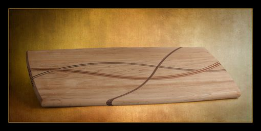 Custom Made Designer Hard Maple Cutting Board
