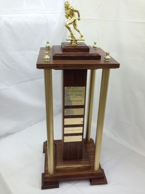 Custom Made Fantasy League Trophy