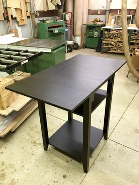 Custom Made High Top Drop Leaf Table