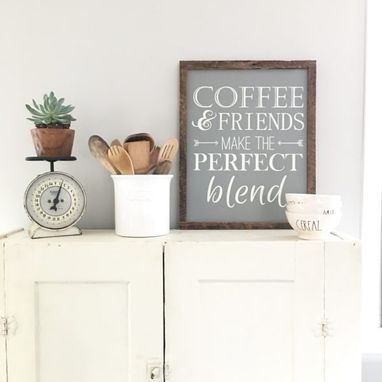 Custom Made Coffee And Friends Make The Perfect Blend