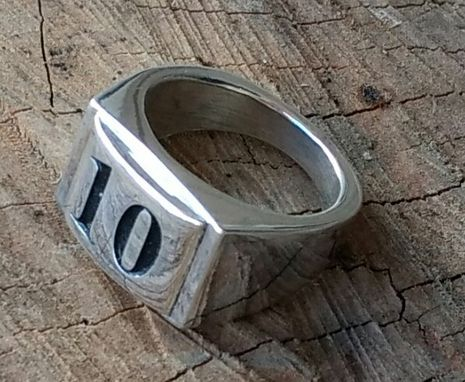 Custom Made Extra Heavy Bikers Ring
