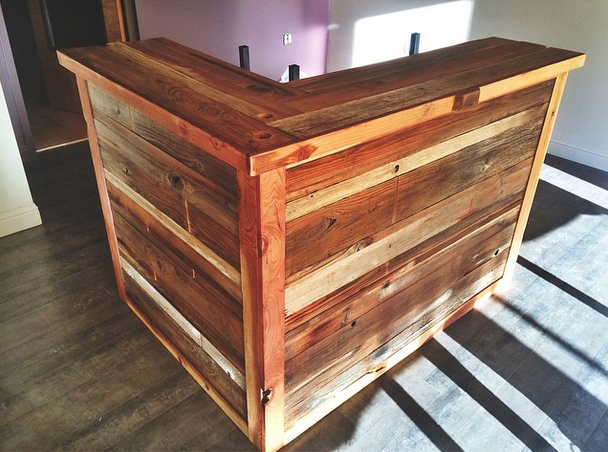 Hand Crafted Retail Front Counters By Urban Mining Company