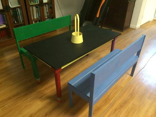 Custom Made Pencil Kids Table