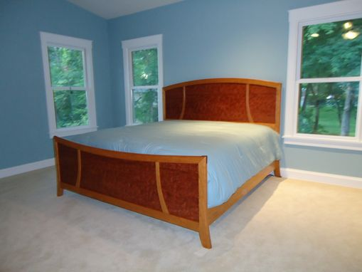 Custom Made King Bed