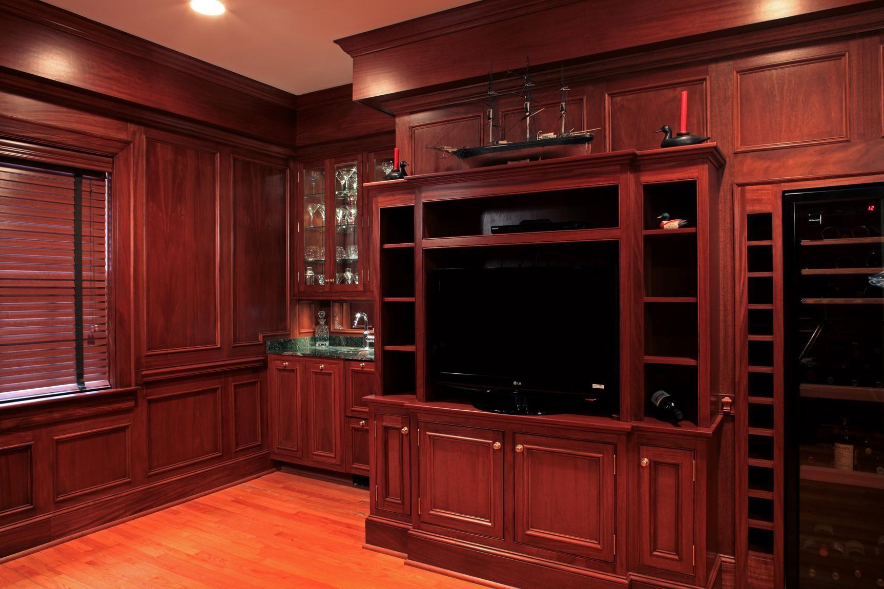 Handmade Mahogany Living Room By Brandon Parrow