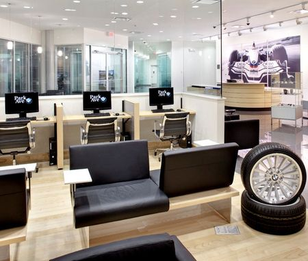 Custom Made Auto Dealer Showroom