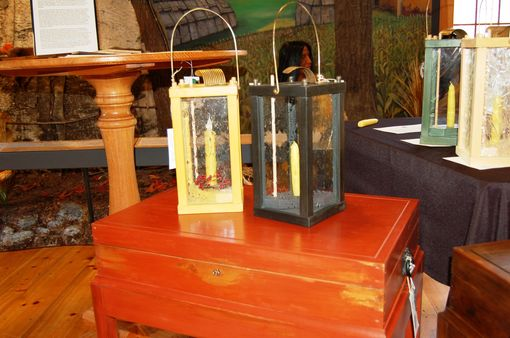 Custom Made 200+Year Old Pine Shaker Lantern