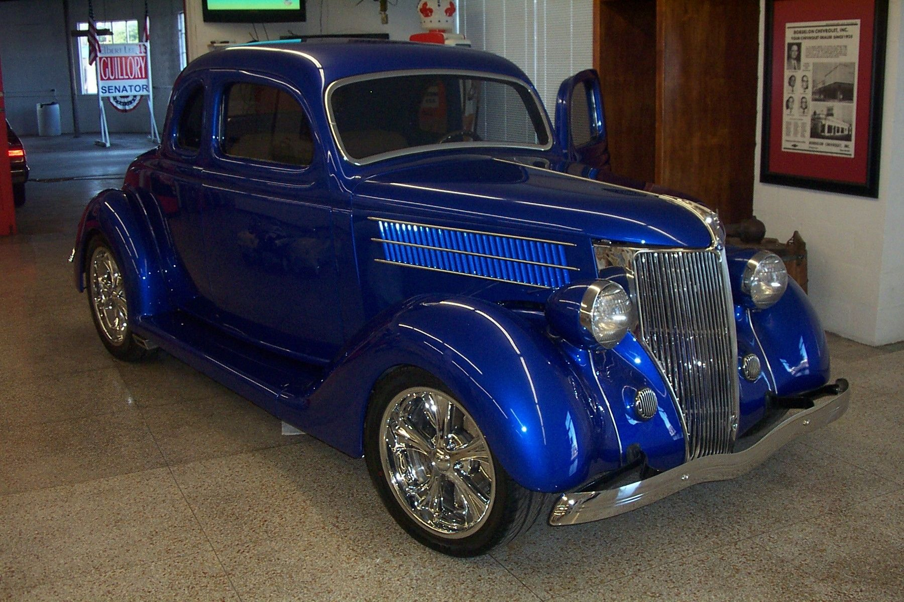 Handmade Bo S 1936 Ford Coupe By Bayou Boogie Customs