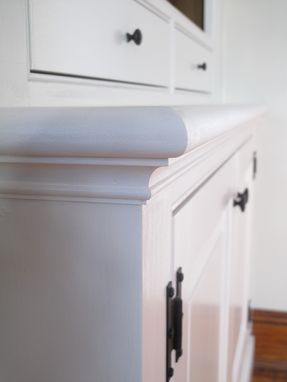 Custom Made Painted Living Room Casework