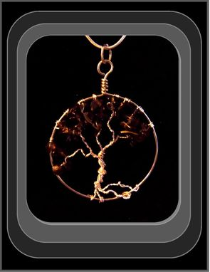 Custom Made Tree Of Life Pendant Necklace, Custom Designed & Made By Me.