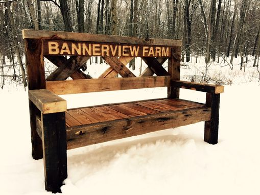 Custom Made The Farm Bench