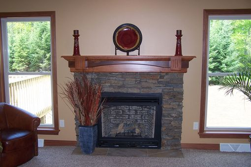 Custom Made Custom Mantel For Parade Home 2011