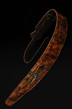 Custom Made Harbinger Relic Guitar Strap