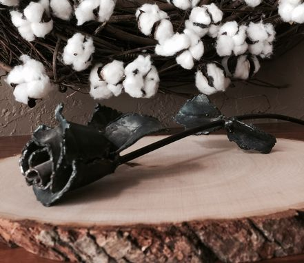 Custom Made Steel Rose