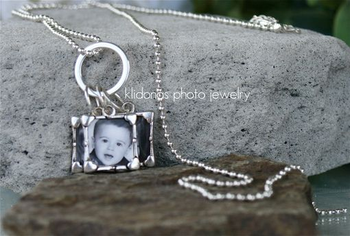 Custom Made Charm Necklace, Photo Necklace, Photo Jewelry, Custom Photo Charm Necklace