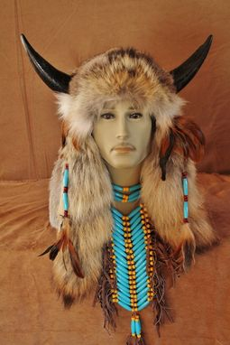 Custom Made Imitation Native American Medicine Man Head (Inh108)
