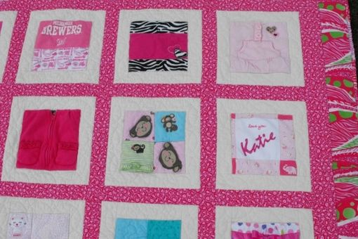 Custom Made Baby Clothes Memory (T-Shirt) Quilt