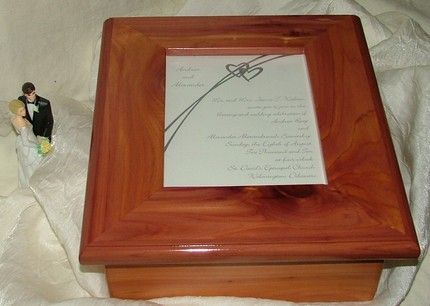 Custom Made Wedding Invitation Keepsake Bo