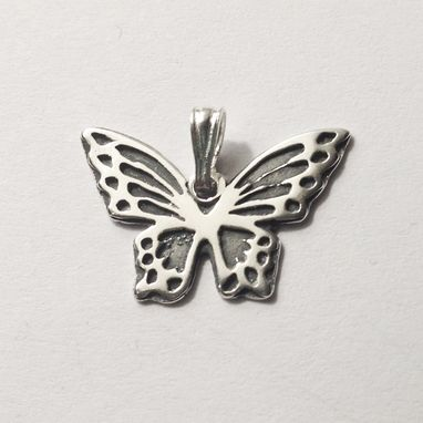 Custom Made Butterfly Pendant