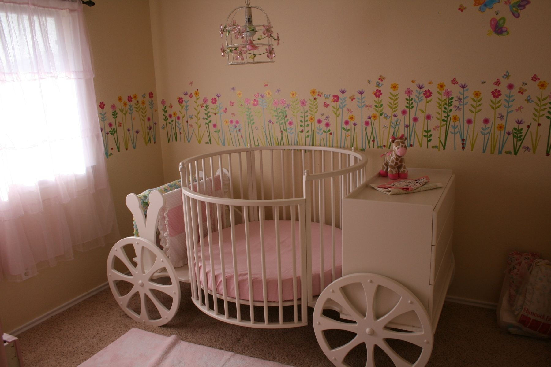 Handmade Carriage Crib by Stoll Furniture and Design ...