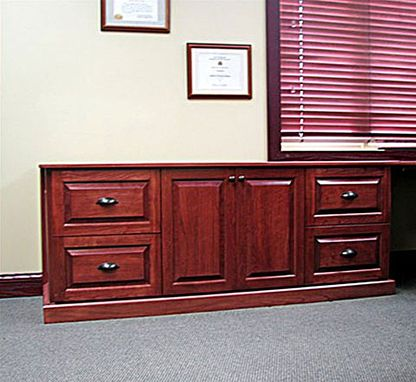 Custom Made Traditional Cherry Office Furniture