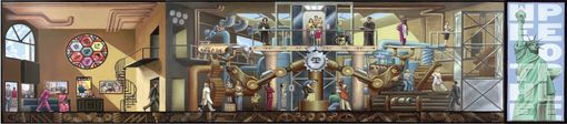 "Custom Made The Aclu's ""Assembly Line Of Justice"" Mural"