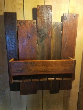 Custom Made Reclaimed Wine Rack, Reclaimed Barn Wood, Reclaimed Lumber, Storage, Wine