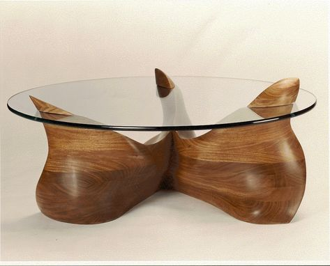 Custom Made Undulating Coffee Table
