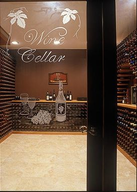 Custom Made Private Wine Cellar 4