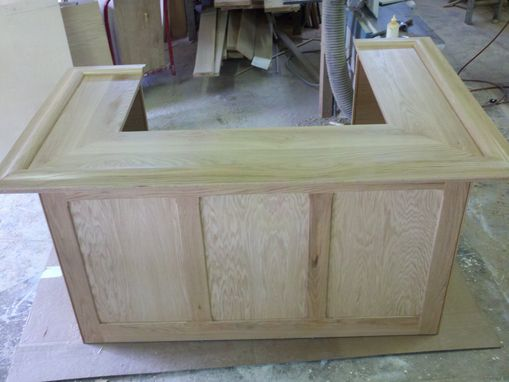Custom Made Oak Bar