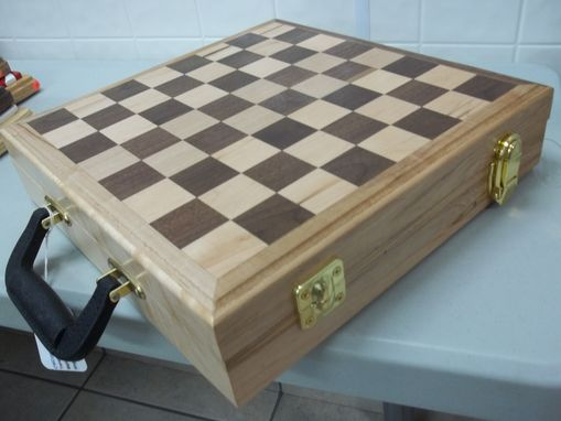 Custom Made Chessboard, Travel Style