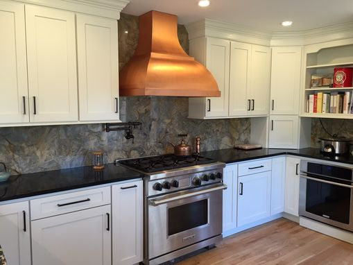 Custom Made Artisan Copper Range Hood 30