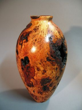 Custom Made Cherry Burl Vase