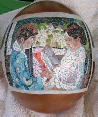 Custom Made Mosaic Objet D'Art