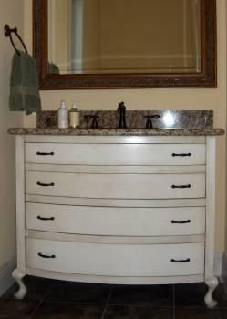 Custom Made Furniture Style Vanity