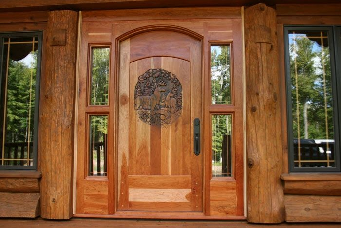 Hand Crafted Hand Carved Entry Door 2 5 8 Quot Thick