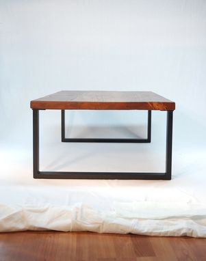 Custom Made Redmond Rustic-Modern Coffee Table