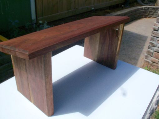 Custom Made Sold Walnut Prayer Kneeler